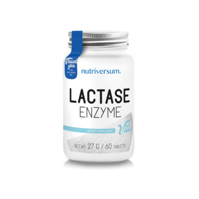 Nutriversum Lactase Enzyme - laktáz enzim - 60 tabletta