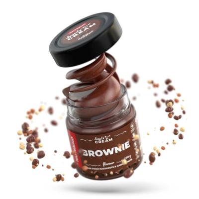 Nutrend DeNuts Cream Brownie mogyorókrém, kesudióval 250 g