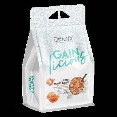 OstroVit - GAINlicious - Mass Gainer - tömegnövelő, sós karamellás ízű 4500 g