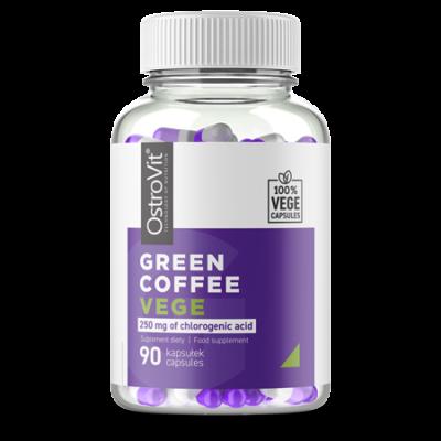 OstroVit - Green Coffee - Zöld kávé - Vegán - 90db