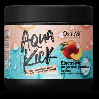 Ostrovit Aqua Kick Electrolyte - barackos ízű, elektrolit italpor - 300 g