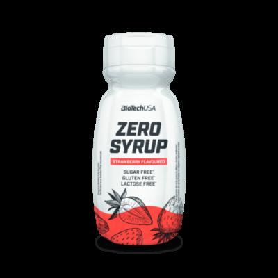 Biotech USA - Zero Syrup - Eper- 320 ml