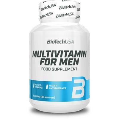 BiotechUSA - Multivitamin for Men 60 tabletta