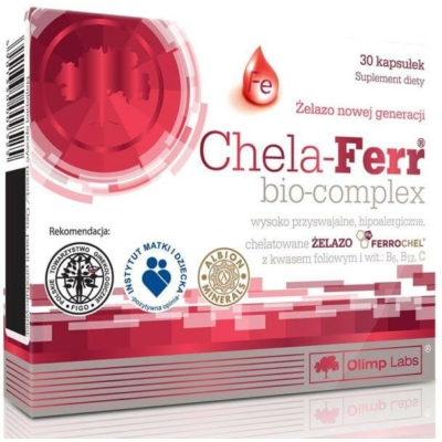 Olimp Labs - Chela-Ferr Bio-Complex - (30)