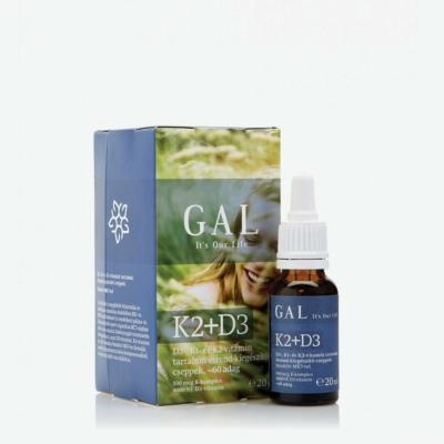 GAL - K2+D3 vitamin - 20ml