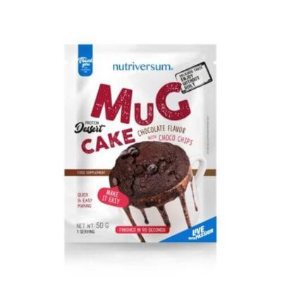 Nutriversum - Mug Cake - mikrós fehérjés sütemény