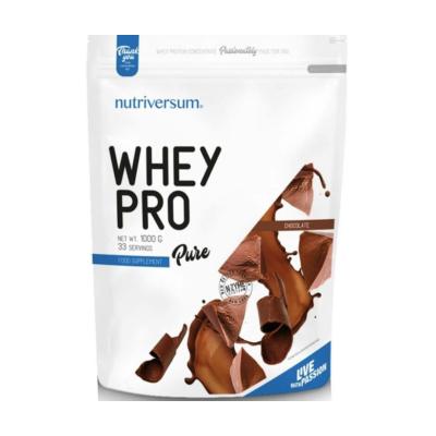 Nutriversum Whey Pro - Fehérje koncentrátum - Csokoládé - 1kg