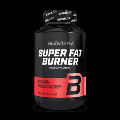 BiotechUSA Super Fat Burner, diétád kiegészítője 120 tabletta