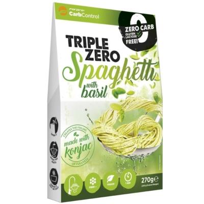 ForPro  - Triple Zero Pasta - Zero Bazsalikomos spagetti - 270g