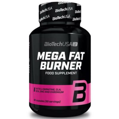 BiotechUSA - Mega Fat Burner - 90db