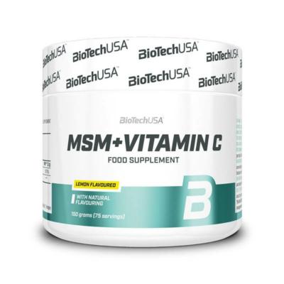 BiotechUSA - MSM + Vitamin C - 150 g