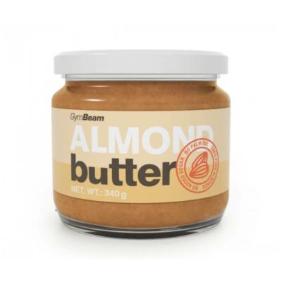 GymBeam Almond butter, mandulavaj , 100%  tisztaságú mandula