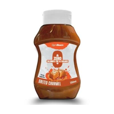 GymBeam - Salted Caramell Syrup - sós karamellás szirup