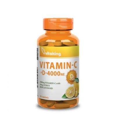 Vitaking - C-1000+D-4000 komplex - 90db