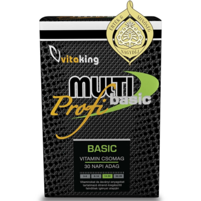 Vitaking profi multi basic vitamin pakk, multivitamin pakk