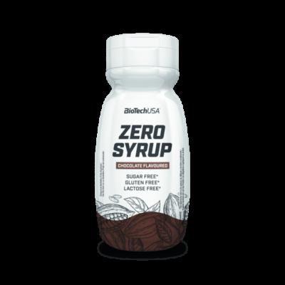 Biotech USA - Zero Syrup - Csokoládé - 320 ml