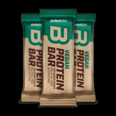 BiotechUSA - Vegan Protein Bar fehérjeszelet 50 g