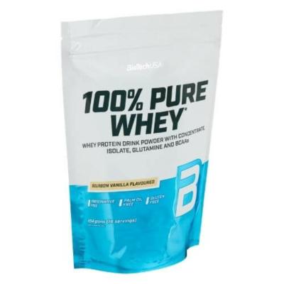 BiotechUSA - 100% Pure Whey 454 g - fehérje