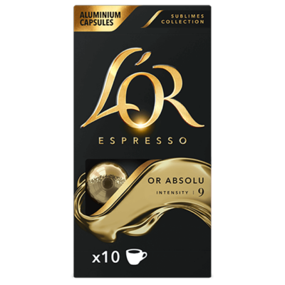 L'OR Espresso Or Absolu 10db nespresso kompatibilis kávékapszula