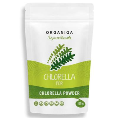 Organiqa - Bio, nyers Chlorella por 125g