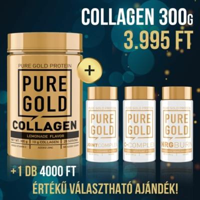 Pure Gold Protein -  Marha kollagén 300g + Ajándék termék