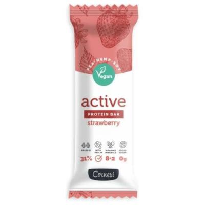 Cornexi Vegan PRotein fehérje szelet, növényi fehérje szelet