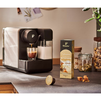 Tchibo Cafissimo - Buttertoffee - Vajkaramella kávékapszula