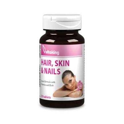 VitaKing haj, bőr, köröm komplex vitamin – 30db tabletta
