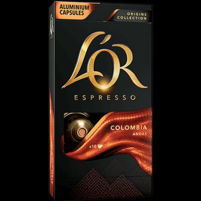 L'OR Espresso Colombia 10db nespresso kompatibilis kávékapszula