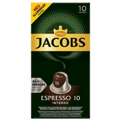 Jacobs Espresso 10 - Nespresso kávékapszula