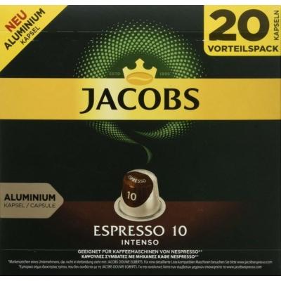 JACOBS ESPRESSO INTENSO 10 - 20db nespresso kávékapszula