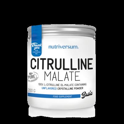 Nutriversum Citrulline Malate - 100% tisztaságú Citrulline-malát