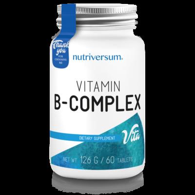 Nutriversum-B-complex, b-vitamin 7 féle B-vitaminnal