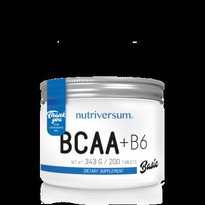 Nutriversum - BCAA+B6 - 200db
