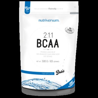 Nutriversum BCAA, 100% tisztaságú bcaa aminosav