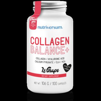 Nutriversum Collagen Balance+ - 100 kapszula