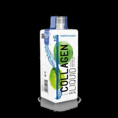 Nutriversum - Collagen Liquid - Folyékony kollagén - Zöldalma - 450ml