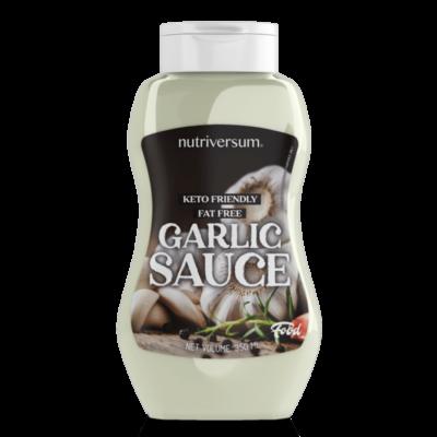 Nutrtiversum Sauce - fokhagymás zero szósz - 350ml