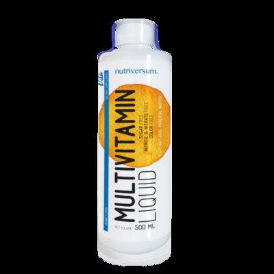 Nutriversum - Multivitamin liquid - folyékony multivitamin - 500ml
