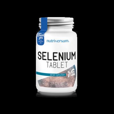 Nutriversum Selenium - szelén 60 tabletta
