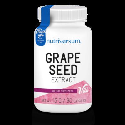 Nutriversum Grape Seed -  szőlőmag kivonat - 30 kapszula