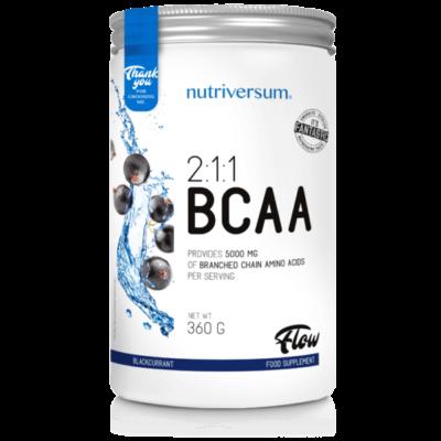 Nutriversum BCAA feketeribizli aminosav por - 360g