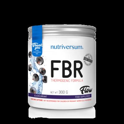 Nutriversum FBR - poros zsírégető - feketeribizli ízű - 300g
