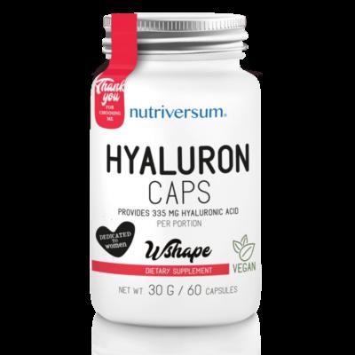 Nutriversum Hyaluron - hialuronsav kapszula - 60db.