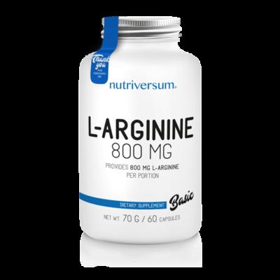 Nutriversum L-arginine 60 kapszula