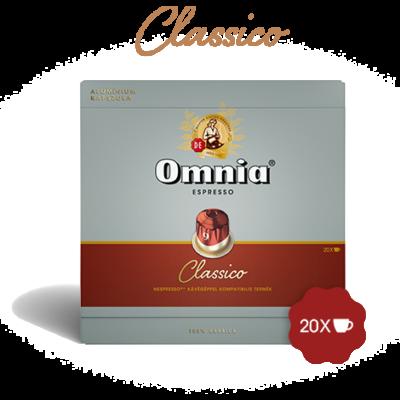 Omnia - Espresso Classico kávékapszula - 20db