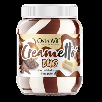 OstroVit Creametto 350 g DUO milk hazelnut - tejcsokoládé-mogyoró ízű mogyorókrém