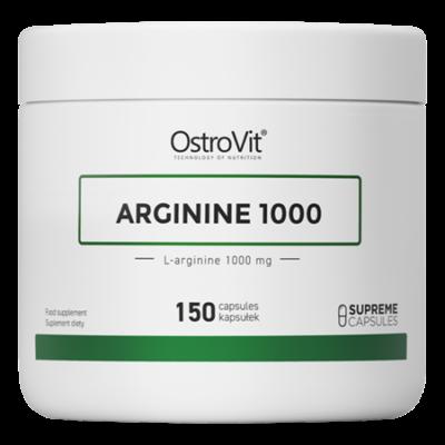 OstroVit Arginine 150 kapszula, 1000mg