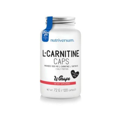 Nutriversum L-carnitine caps, l-karnitine kapszula