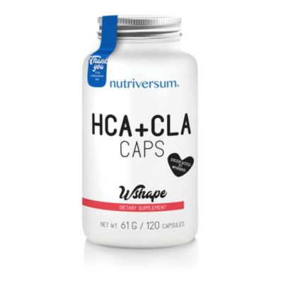 Nutriversum HCA+CLA zsírégető kapszula